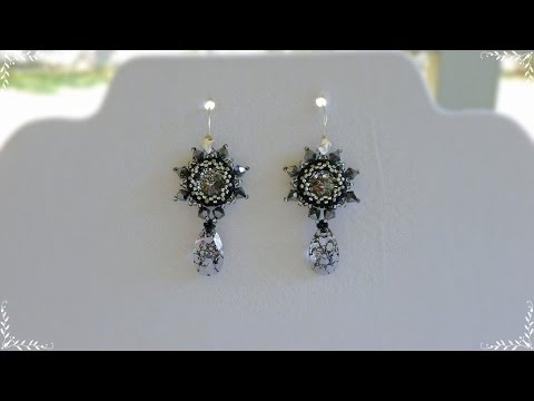 TheHeartBeading: Orion Earrings