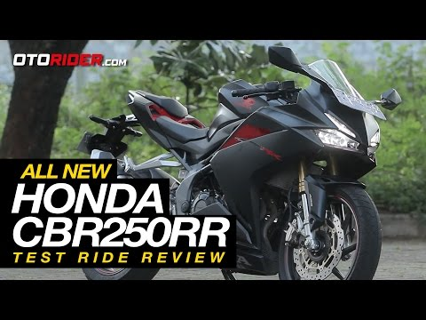 All New Honda CBR250RR Test Ride Review - Indonesia (English Subtitled) | OtoRider