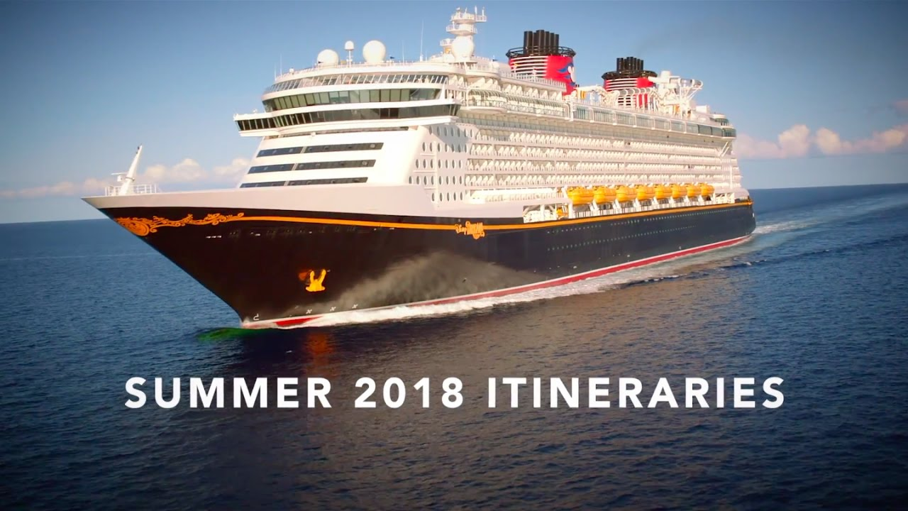 Disney Cruise Line Summer 2018 Itineraries - YouTube
