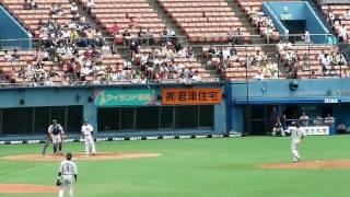 2010.7.3(土) 千葉ロッテ vs 西武ライオンズ 11回戦。 8回裏1アウトで、...