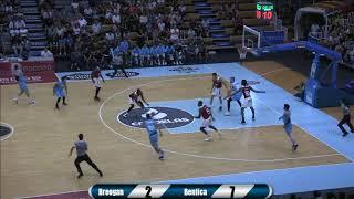 Video Torneo LUGO É BASKET 2019 LECHE RÍO BREOGAN vs BENFICA