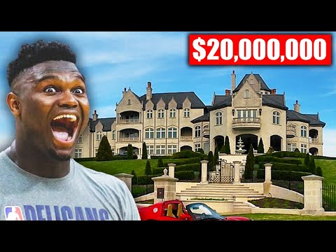 Most Expensive Mansions Of NBA Players (Ft. Zion Williamson)