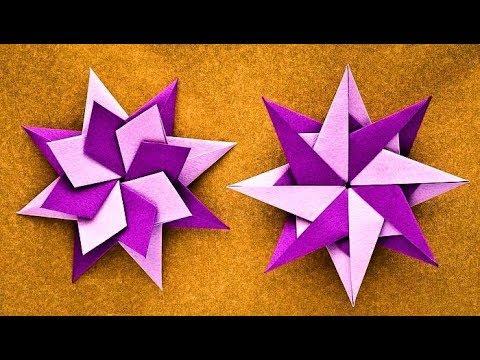 How To Make a Paper Ninja Star (Shuriken) - Origami   Remake - YouTube   360x480