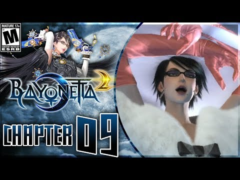Bayonetta 2: Chapter 9 - The Gates of Hell - Walkthrough on Nintendo Switch! - 동영상
