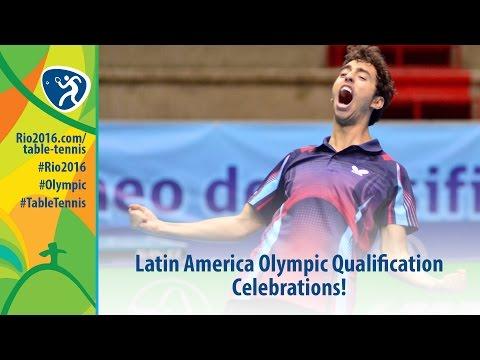 Latin America Olympic Qualification Celebrations
