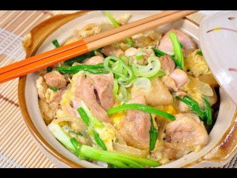 ข้าวหน้าไก่และไข่แบบญี่ปุ่น Oyako Donburi