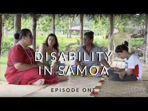 Disability in Samoa - Part 1
