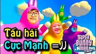ĐÊM CUỐI CỦA ĐẠT TRƯỚC KHI CƯỚI VỢ =)))) Game Hài SUPER BUNNY MAN !!!