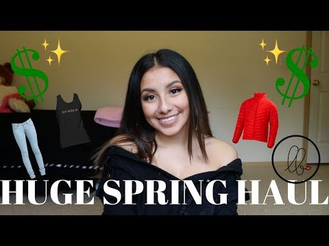 2018 SPRING CLOTHING (TRY ON) HAUL