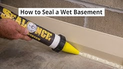 How to Seal a Wet Basement Water-tight • DIY Basement Waterproofing