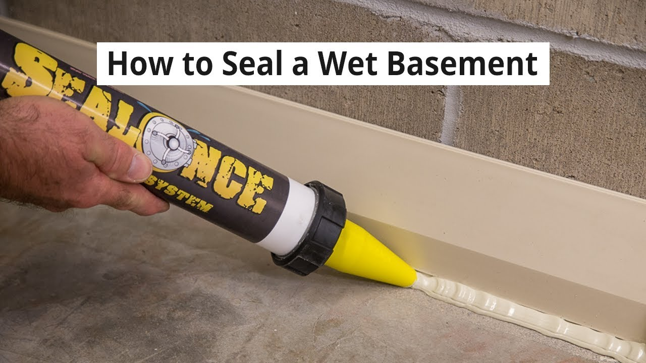 How To Seal A Wet Basement Water Tight U2022 DIY Basement Waterproofing