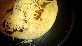 Feb 12 2012,,tortillas Mozzarella Cheese & Beef Short Ribs Add Kimchi