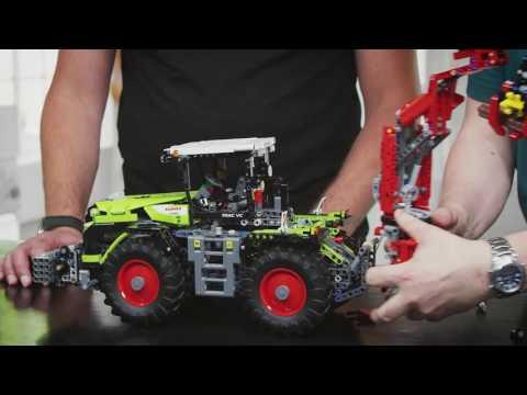 LEGO 42054 LEGO TECHNIC TRATTORE CLASS XERION 5000 TRAC VC