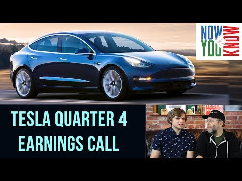 In Depth - Tesla Quarter 4 Earnings Call