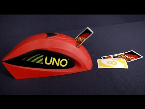 UNO Attack from Mattel - YouTube