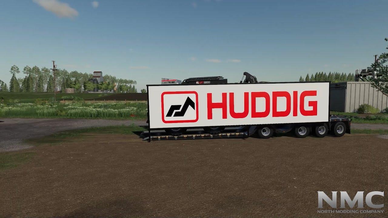 Huddig 1260E Showcase! PC/Xbox/PS [Farming Simulator 19]