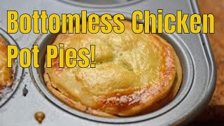 Mini Chicken Pot Pies - Quick and Easy