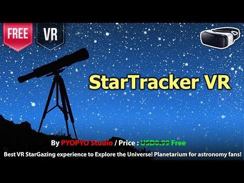 StarTracker Gear VR Best VR StarGazing experience to Explore the Universe Planetarium