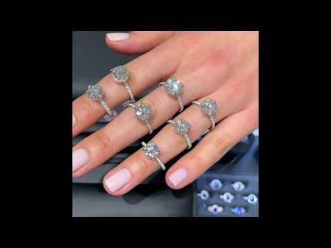 Round Diamond Engagement Ring Designs: IGTV Special