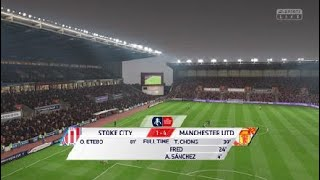 FIFA 19: Stoke City vs Manchester United