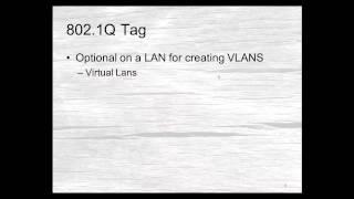 TCP/IP Basics - Episode 30 -- Ethernet Frames