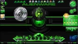 video tutorial personalizando windows 7 alienware greem 2012.
