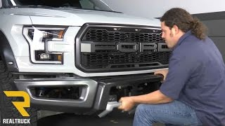 How to Remove Factory Front Bumper on 2017 Ford Raptor at RealTruck.com