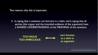 What is a Claim, Statement, or Proposition? Thumbnail