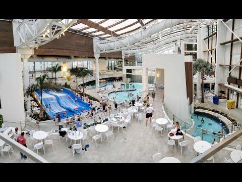 Soundwaves Indoor Waterpark At #Opryland Hotel, Nashville, TN #soundwavesnashville #flowrider