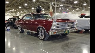 1966 Ford Fairlane 500XL in Vintage Burgundy & Engine Sound on My Car Story with Lou Costabile