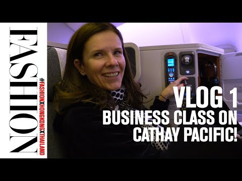 Vlog 1: Taking Business Class from Toronto to Hong Kong on Cathay Pacific Airlines!