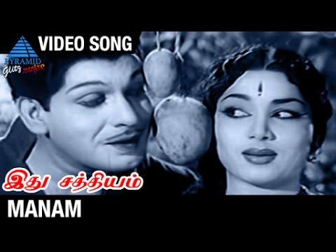 Ithu Sathiyam Tamil Movie Songs | Manam Video Song | Asokan | Chandrakantha | MS Viswanathan