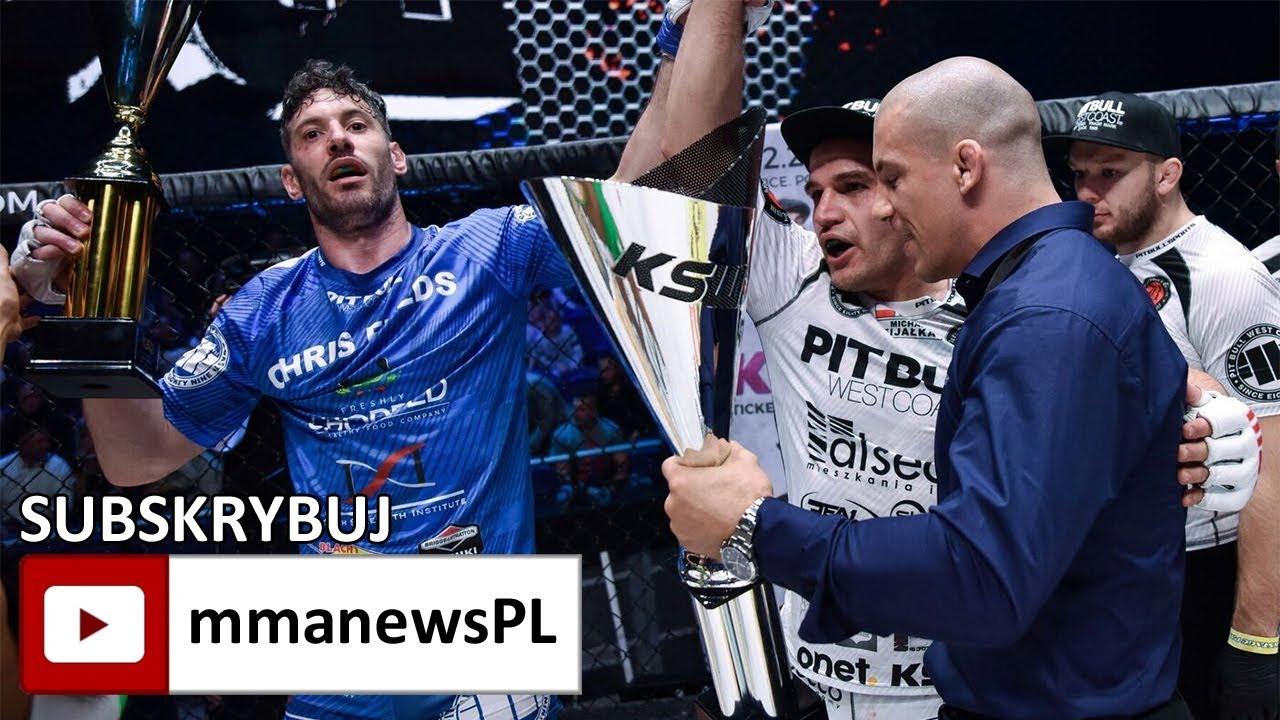 KSW 40: Po wygranej z Fijałką, Chris Fields chce zawalczyć w grudniu w Katowicach