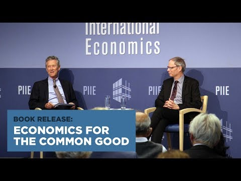 Book Release: Economics for the Common Good
