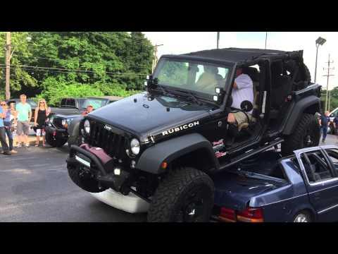 Jeep jk car crush doovi for Starr motors off road day 2017