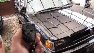 Alarm Clifford Avantguard IV On Civic Wonder SB4 - HCW Bandung... ^_^