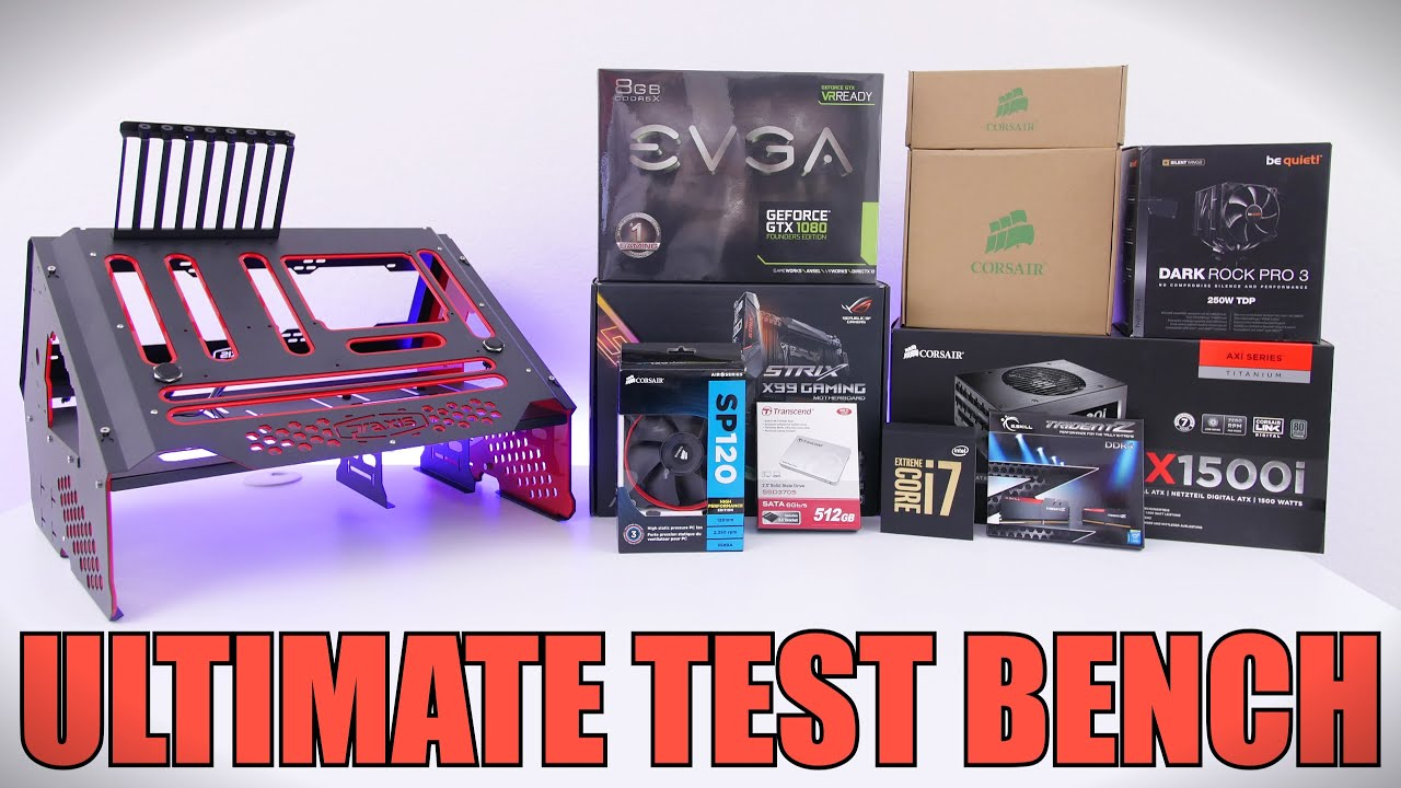 Attractive What Is A Test Bench Part - 7: Ultimate Test Bench Setup | Time Lapse Build - YouTube