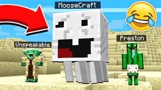 IMPOSSIBLE TRY NOT TO LAUGH CHALLENGE! - Minecraft Mods PrestonPlayz