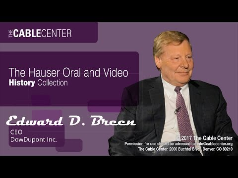 Ed Breen Oral and Video History Collection