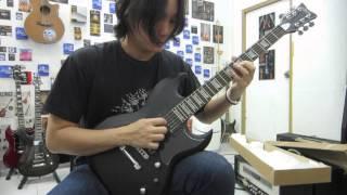 Schecter S II Platinum Guitar Clean Sound