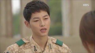 [태양의 후예] - 송중기, 송혜교 질투에 능글 미소