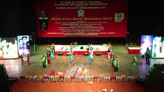 Bhangra | M and M Public School | Sunny Cheema | Sirifort Auditorium