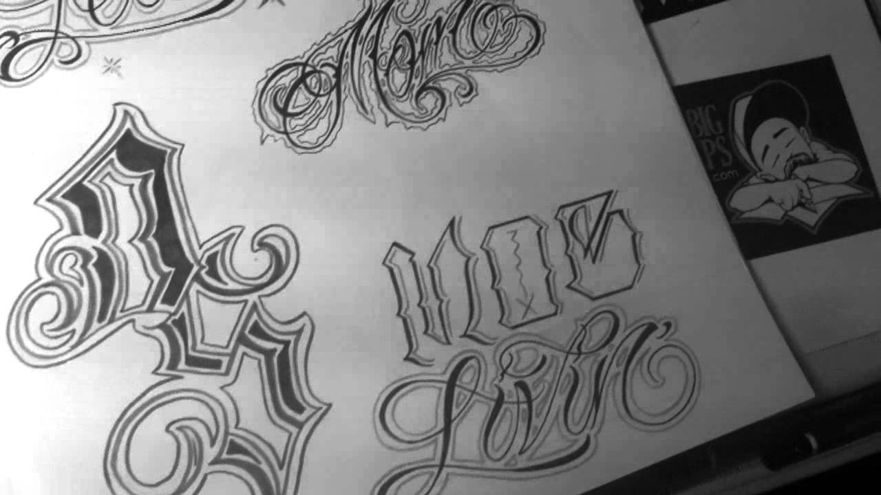 Tato Art Styles: Didson Chicano Street Tattoos Art Drawing