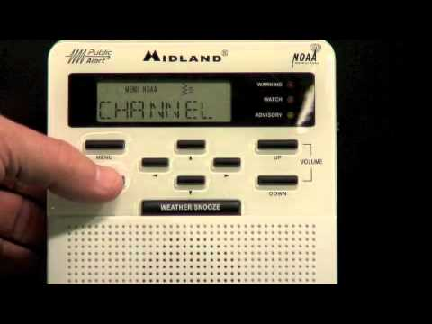 Midland Weather Radio Programming
