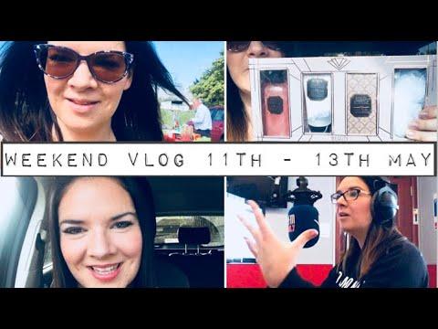 Weekend Vlog! Great Yarmouth   Gig   Mini Car Boot Haul   Radio Presenting!