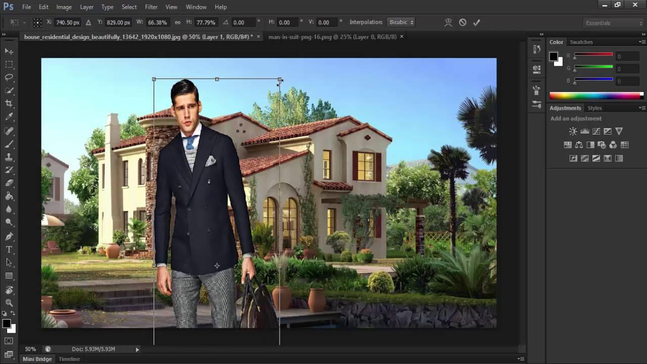 9 photoshop cs6 ajouter une image dans une autre image. Black Bedroom Furniture Sets. Home Design Ideas