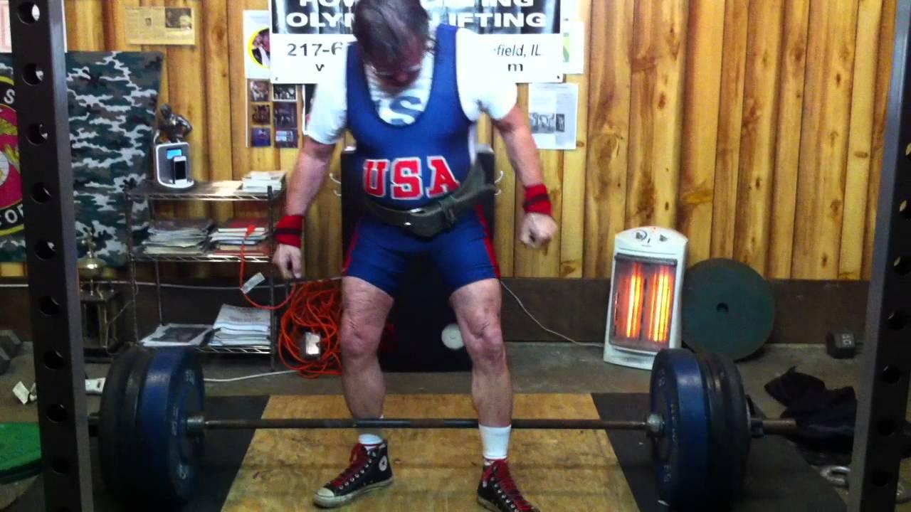 70 year old man, Jefferson lift world record
