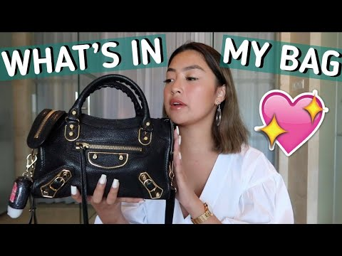UPDATED WHAT'S IN MY BAG | Rei Germar