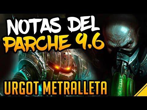 NOTAS DEL PARCHE 9.6 | Noticias League Of Legends LoL thumbnail