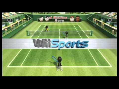 Game Video: Wii Sports Tennis & Boxing Part 1